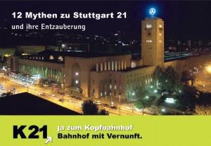 12 Mythen zu Stuttgart 21