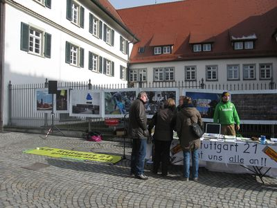 Infostand in BWaldsee