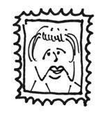 Briefmarke-Muddi
