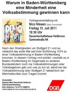 Flyer Heilbronn