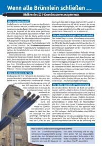 Grundwassermanagment