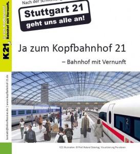 Ja zum Kopfbahnhof 21 (K21) - Bahnhof mit Vernunft