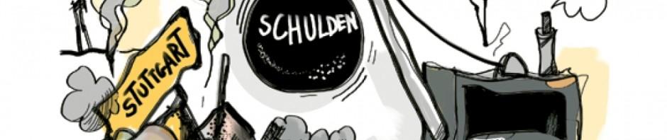 Stuttgart 21 - Schuster - Stuttgart - Zeit zu gehen!