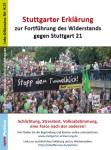 Petition - Stuttgarter Erklärung zur Fortführung des Widerstands gegen Stuttgart 21