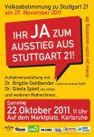 Karlsruhe - IHR JA ZUM AUSSTIEG AUS STUTTGART 21!